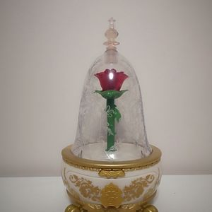 NEW Disney Beauty and the Beast rose toy